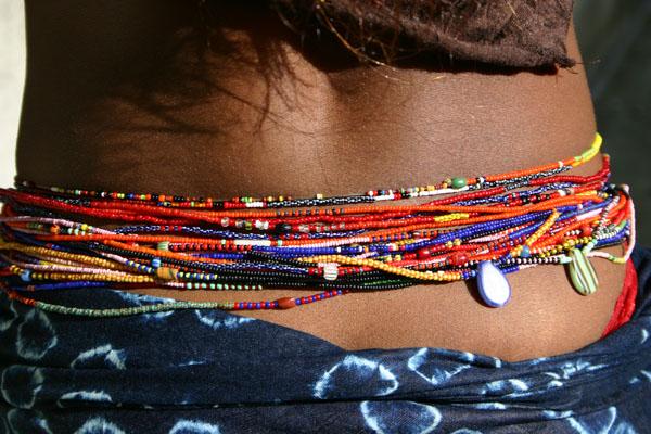Chakra Stone Waist beads w Crystals and 5\u201d adjustable link.